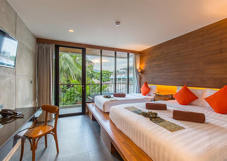 Standard Triple Room - J4 Samui Hotel