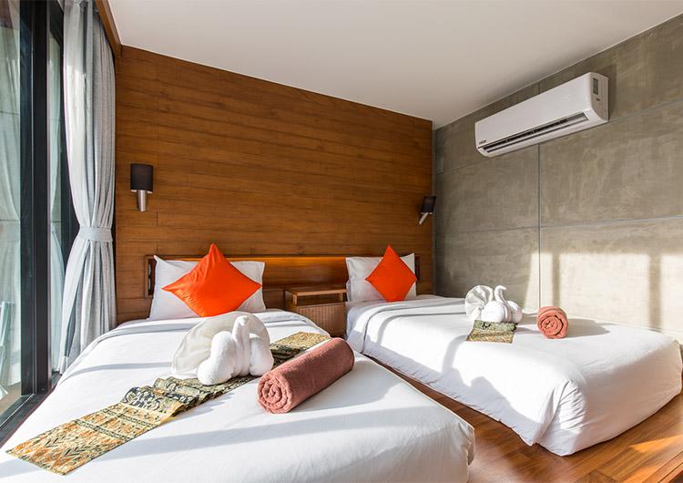 Standard Twin Room - J4 Samui Hotel
